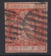 02107 España Edifil 25 O Catalogo 146,-  MAGNIFICO - 1850-68 Reino: Isabel II