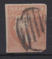 02111 España Edifil 14 O Catalogo 7.500,- Euros OCASION - 1850-68 Reino: Isabel II