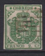 02115 España EDIFIL 32 O Catalogo 710,-Euros MAGNIFICO - 1850-68 Reino: Isabel II