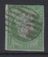 02117 España EDIFIL 39 O Catalogo 200,-Euros - 1850-68 Reino: Isabel II