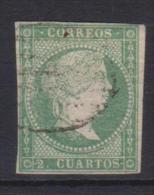 02118 España EDIFIL 43 O Catalogo 345,-Euros - 1850-68 Reino: Isabel II