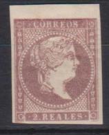 02120 España EDIFIL 50 *  Catalogo 96,-Euros - 1850-68 Kingdom: Isabella II