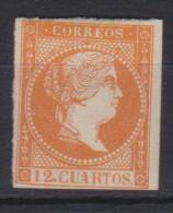 02121 España EDIFIL  NE1A*  Catalogo 1675,-Euros - 1850-68 Kingdom: Isabella II