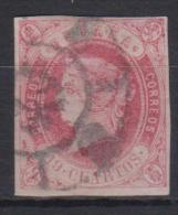 02125 España EDIFIL  60 O   Catalogo 345,-Euros - 1850-68 Reino: Isabel II
