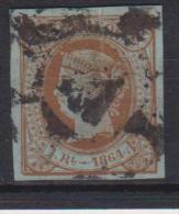 02129 España EDIFIL  67 O Catalogo 122,-Euros - 1850-68 Reino: Isabel II