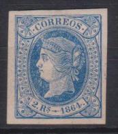 02130 España EDIFIL  68 * Catalogo 275,-Euros - 1850-68 Kingdom: Isabella II