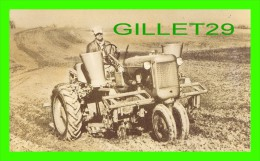 """AGRICULTURE - TRACTEURS -  ALLIS-CHALMERS MODEL """"C"""" TWO-ROW PLANTERS - MILWAUKEE, WI - - Tracteurs"""