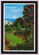 Usa °° Orégon - Portland Home International Rose Gardens écrite 1986 ° T-P - Portland