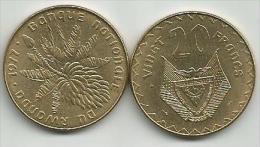 Rwanda 20 Francs 1977. UNC - Rwanda
