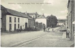 Messancy Route De Longwy Pens. Des Soeurs Francisc  Matériel Agricole Edit. Tibesar Arlon - Messancy