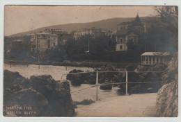 Austro Hungarian Monarchy Croatia Abbazia Villa Hotel Censored 1906 RPPC Real Photo Post Card Postkarte POSTCARD - Croatia