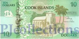 COOK ISLANDS 10 DOLLARS 1992 PICK 8a UNC - Cook