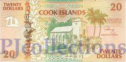 COOK ISLANDS 20 DOLLARS 1992 PICK 9a UNC - Cook