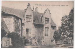 CP MOULIHERNE (51 MAINE ET LOIRE) Château De La Touche A B  1952 - Autres Communes