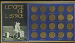 L EPOPEE DE L ESPACE  20  MEDAILLES - France