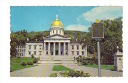 Etats Unis: Vermont, Montpelier, State Capitol (15-3878) - Montpelier