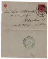 Entier Postal Sur Carte Lettre Autriche 1907 - 10 Heller (Hotzelsdorf à Eichgraben - Wien) - Entiers Postaux