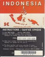 GREECE - Indonesia, Amimex Prepaid Card 5 Euro(807 2658), Tirage %20000, 04/05, Used - Greece
