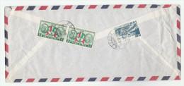 1962 Air Mail PERU  COVER Multi Stamps  To GB - Peru