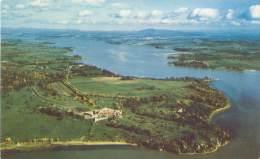 NEW YORK - Fort Ticonderoga - Aerial View - NY - New York