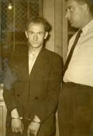 France Paris Criminologie Marcel Bry Assassin Bois De Vincennes Louise Bidalot Ancienne Photo 1950 - Photographs