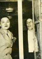 France Loudun Criminologie Le Retour De Marie Besnard Empoisonneuse Ancienne Photo 1954 - Photographs
