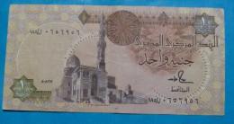 EGYPT 1 POUND  ND 1978, VF+ - Egypte