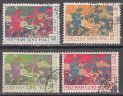 Viet Nam --south   Scott No.  108-11   Used      1959 - Vietnam