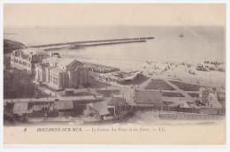 A SAISIR !!!!. BOULOGNE SUR MER. Le Casino, La Plage Et Les Jetées - Boulogne Sur Mer