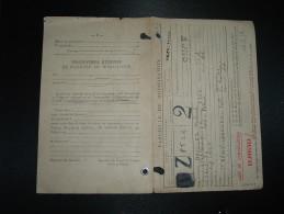 FASCICULE DE MOBILISATION Daté 18 JUIL 1956 VALENCIENNES (59 NORD) - Marcophilie (Lettres)