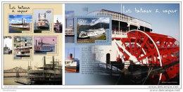 TOGO 2014 ** M/S + S/S Steamboats Dampfschiffe Bateaux à Vapeur Barcos De Vapor A1442 - Barcos