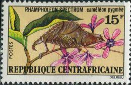 BA1127 Central African 1973 Lizard 1v MLH - Stamps