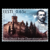 ESTONIA Estland 2015 Stamp Tartu University Meteorology Observatory 150 / 614 MNH - Estonia