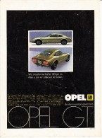 OPEL GM - OPEL GT - 'De Sterke Jonge Generatie'  & Good Year G800 Radiaalband - Auto's
