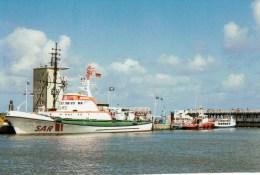 Postcard - Sassnitz Lifeboat, Germany. 47/94