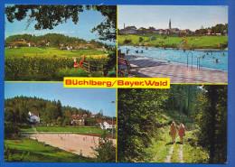 Deutschland; Büchlberg Bayer. Wald; Multibildkarte Mit Schwimmbad Und Sportplatz - Deutschland