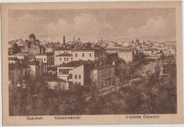 CPA ROUMANIE ROMANIA BUCAREST BUCHAREST Panorama 1919 - Rumänien