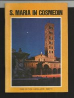 ROMA BASILICA DI SANTA MARIA IN COSMEDIN - ROME BASILIQUE SAINTE MARIE EN COSMEDIN - Livres, BD, Revues