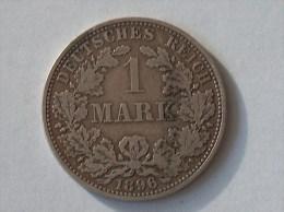 ALLEMAGNE 1 MARK 1896 A ARGENT SILVER Germany Deutschland Ein - [ 2] 1871-1918 : Imperio Alemán