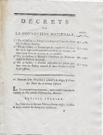 18/31 Juillet 1793  Vente Des Biens Des JÉSUITES, ABOLITION Des Droits De PÊCHE De CHASSE,procès Entre Enfants Naturels - Documenti Storici