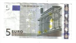 5 € JEAN-CLAUDE TRICHET IRLANDA EIRE T K003G4 CIRCULATED Cod.€.193 - 5 Euro