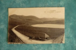 CPA 63 LE LAC DE GUERY. Vue Générale. Carte Animée, Attelage...7-08-1907. - Moulins