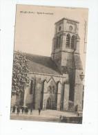 G-I-E , 87 , BELLAC , église NOTRE DAME , Voyagée 1934 , Ed : Nouvelles Galeries - Bellac
