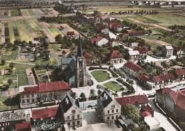 CPSM FLORANGE (Moselle) - Vue Générale Aérienne Le Centre - Frankreich
