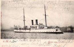 """S.M.S. Iltis, Bateau Allemand Avec Oblitération """"marine"""" - Allemagne"""