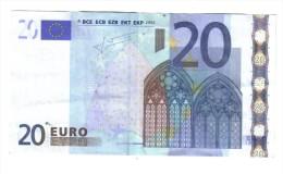 20 € JEAN-CLAUDE TRICHET GERMANIA GERMANY X R002F6 CIRCULATED Cod.€.199 - 20 Euro