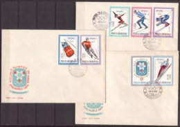 Rumänien , 1967 , FDC , Mi.Nr. 2620 - 2628 ( Weitere Bilder ) - FDC