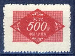 ##K2169. China 1954. Military Service. Michel 12. Unused Without Gum. - 1949 - ... République Populaire
