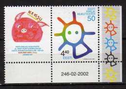 Estonia 2002 The 50th Anniversary Of The Estonian Puppet Theatre.MNH - Estonie