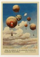 Zeppelin. BELLA RIPRODUZIONE. Cartolina Commemorativa 5 Trasvolata Sud America 27.8.1932, Bollo PA 38, 2 Marchi Oltremar - Airmail